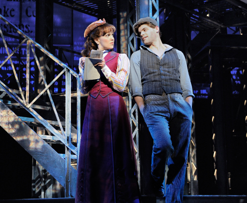 Katherine in Newsies
