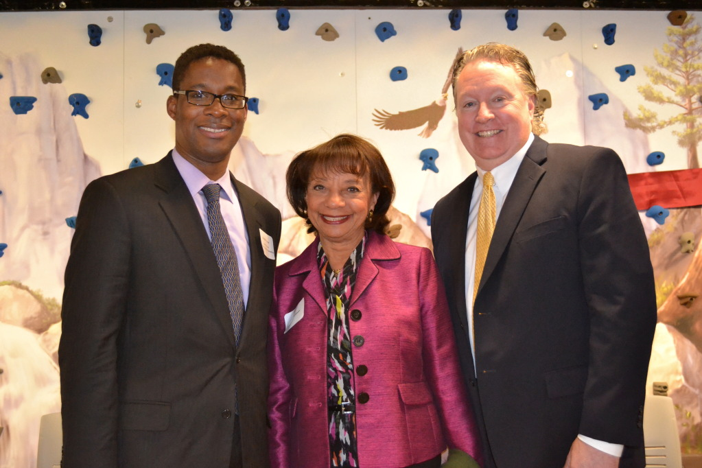 Joseph Kenner, Assistant to the County Executive at Westchester County; Helen Williams, author of  the book she co-wrote with actress daughter Vanessa Williams, entitled You Have No Idea; and Westchester County Legislator Michael Smith