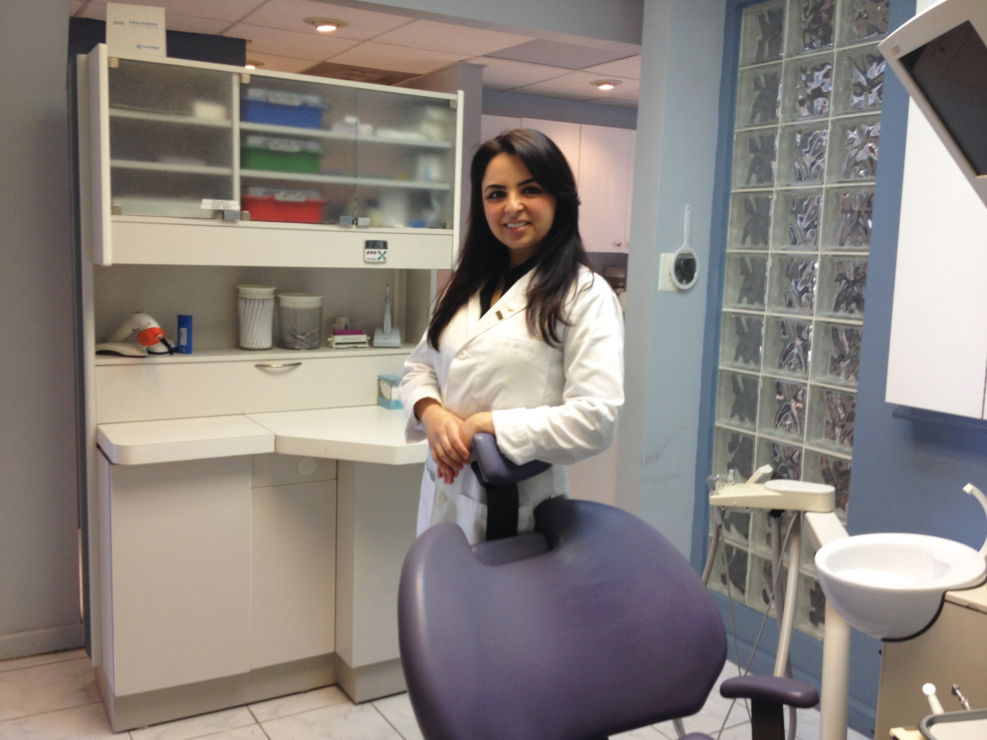Dr. Melody Adhoot, new owner of Metropolitan Smiles in Kew Gardens