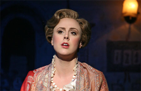 Megan Osterhaus in Mary Poppins on Broadway