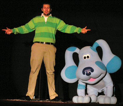 Blue's Clues musical Long Island