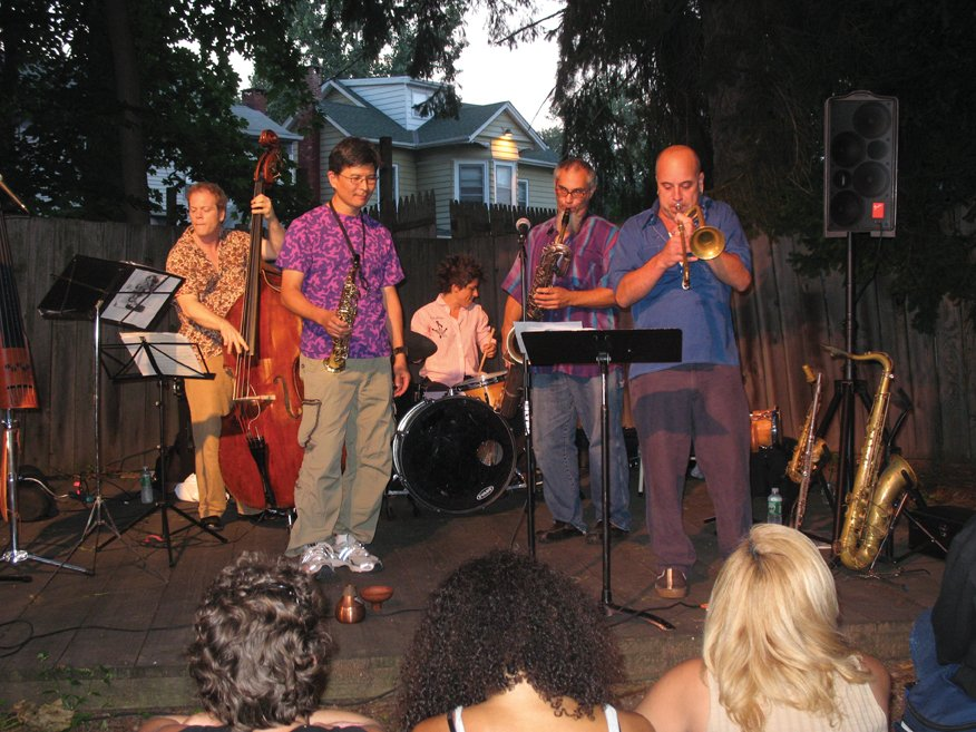 jazz concert at hopper house in nyack ny