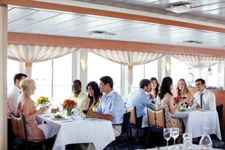 World Yacht dining