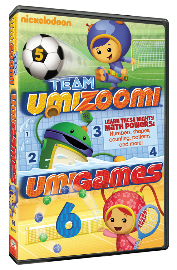 Team Umizoomi Umigames Paramount And Nickelodeon
