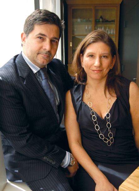 15 East NYC owners Marco Moreira and Jo-Ann Makovitzky