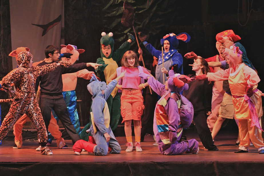 Dora the Explorer musical