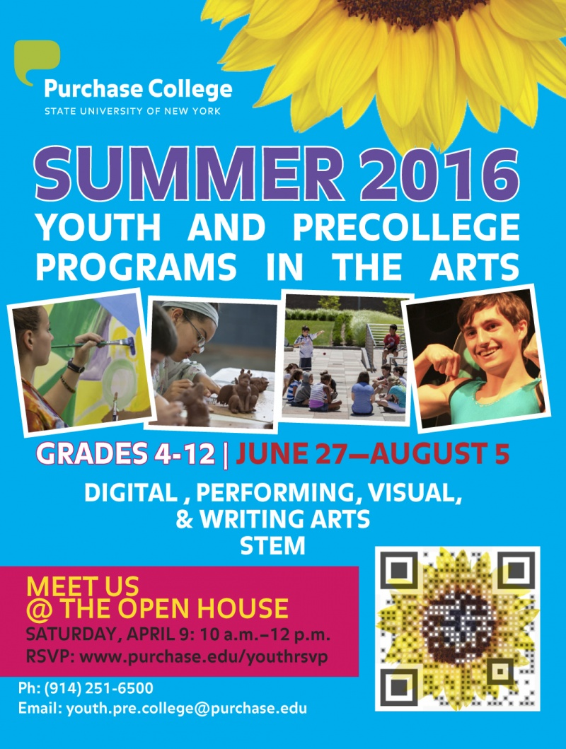 Purchase College Summer Programs