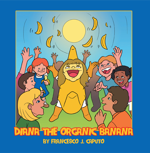 Diana the Organic Banana children's book
