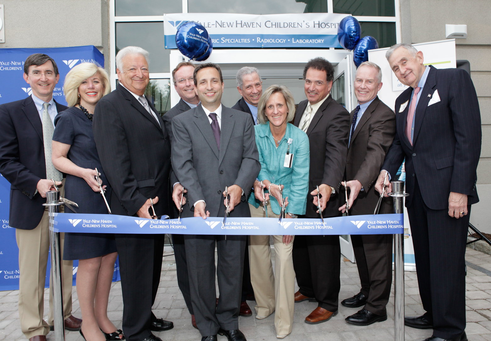 <a href='http://nymetroparents.com/listing/Yale-New-Haven-Children-s-Hospital-'>Yale-New Haven Children's Hospital </a>Ribbon Cutting Ceremony.