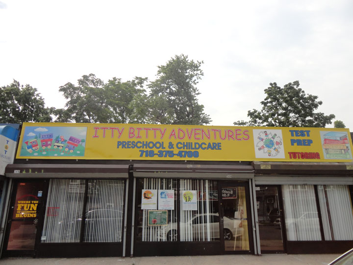 <a href='http://nymetroparents.com/listing/Itty-Bitty-Adventures'>Itty Bitty Adventures</a> preschool located in Marine Park, Brooklyn