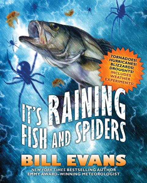 It's Raining Fish and Spiders Book Cover