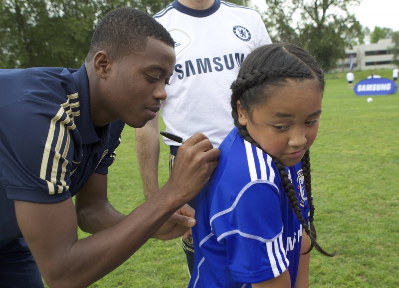 Chelsea Football Club hosts Youth Football Camp in Brooklyn