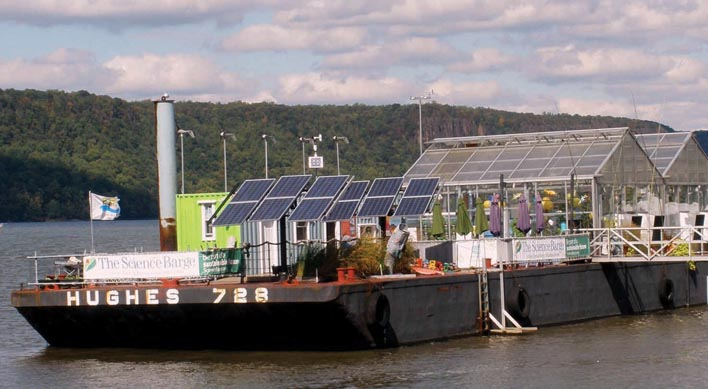 Science Barge Yonkers