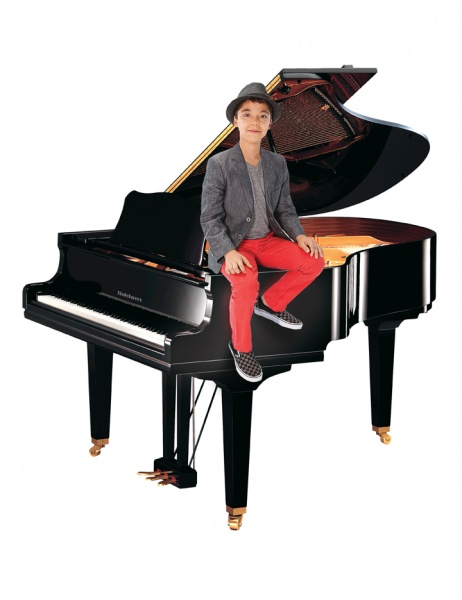 Ethan Bortnick On A Piano