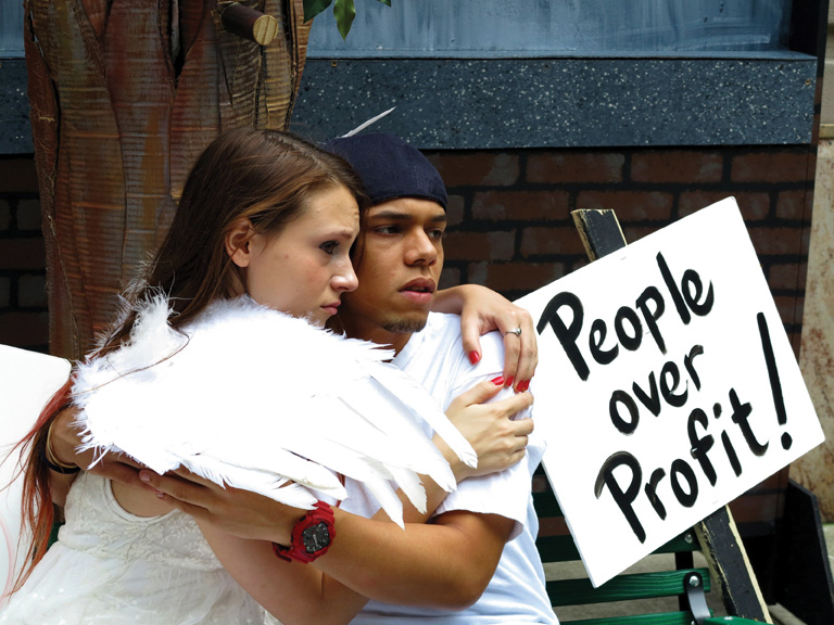 People Over Profit, Occupy Wall Street