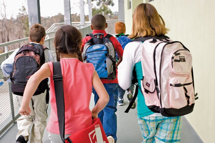 kids going back to school