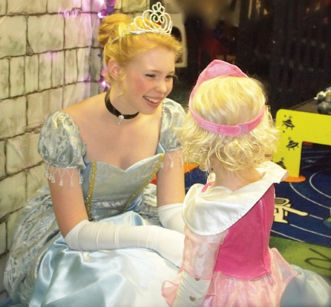 Cinderella at Princess Ball