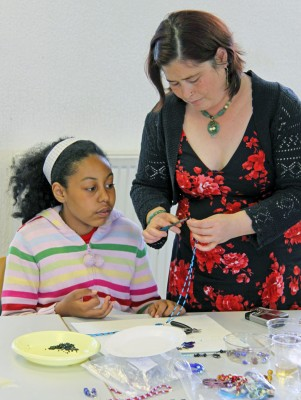 mentor-and-mentee-making-jewelry