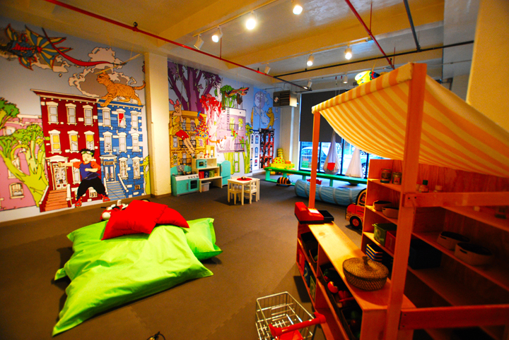 play children's play space located in Greenpoint