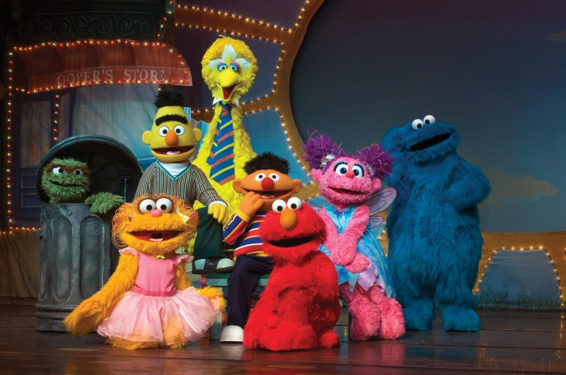 Sesame Street Live Can't Stop Singing