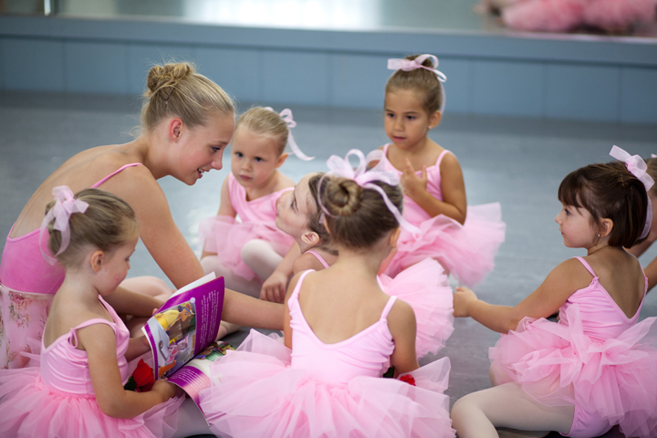 Ballerinas at Studio B Dance Center