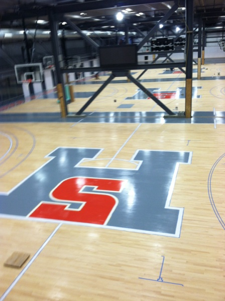 house of sports basketball court