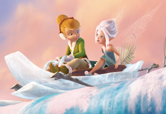 Tinker Bell and Periwinkle in Secret of the Wings