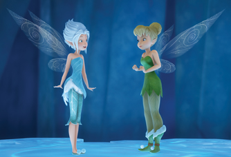 Tinker Bell and her sisiter Periwinkle