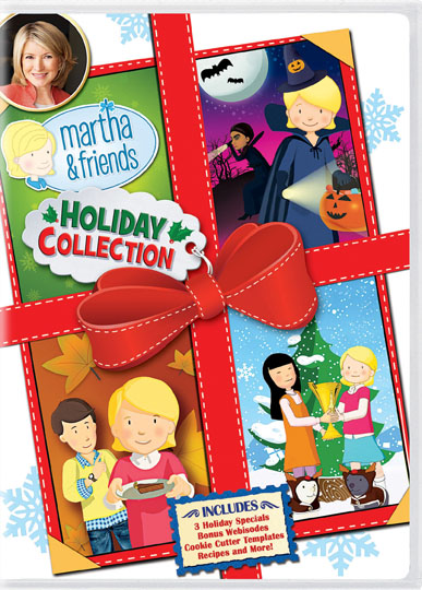 Martha Stewart Holiday Collection DVD