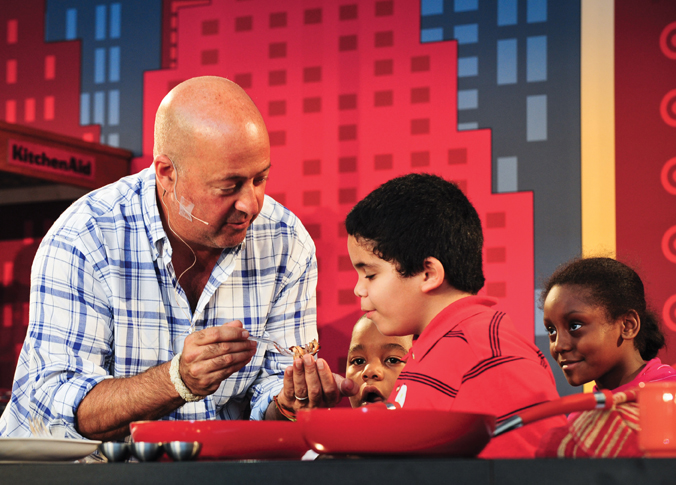 Andrew zimmern at nyc wine and food festival for Things to do with kids in manhattan