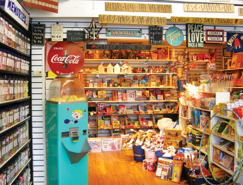 Inside Bobb Howard's General Store; Courtesy Bobb Howard's General Store