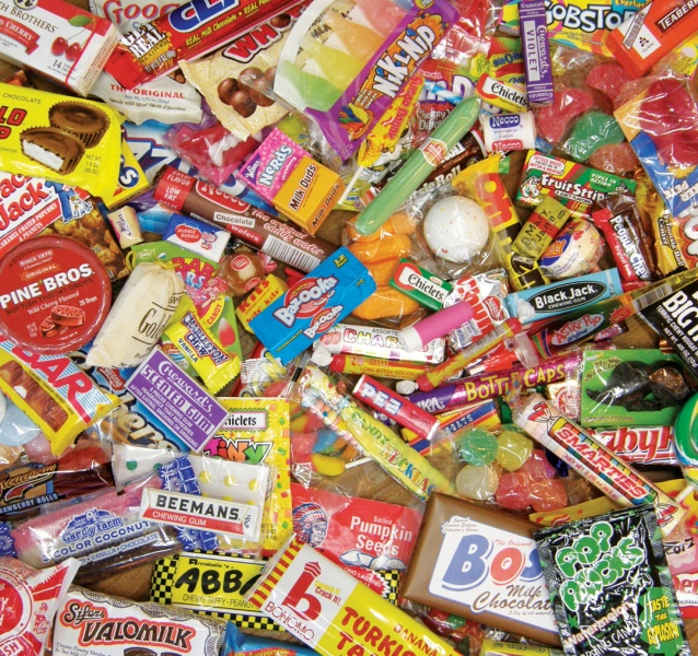 Some of the candy available at Bobb Howard's General Store; Courtesy Bobb Howard's General Store