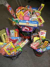 Bobb Howard's Halloween Treat Basket