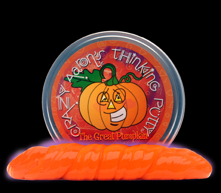 Crazy Aaron's Thinking Putty The Great Pumpkin; courtesy Crazy Aaron's Puttyworld