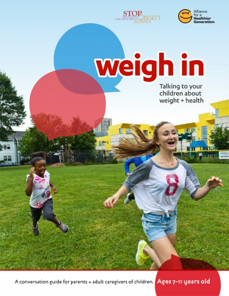 weigh in obesity guide for parents
