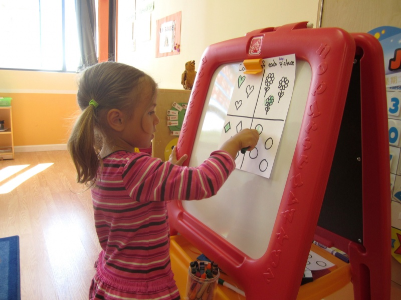 IP Kids Montessori Preschool provides kids with hands-on learning.