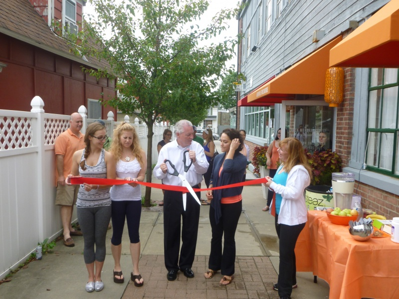 SHE3 ribbon cutting ceremony
