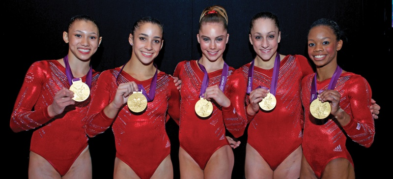women's 2012 olympics gold medal gymnastics team