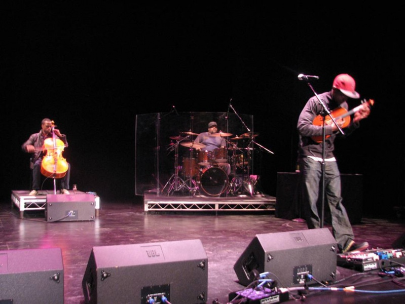 Wil B with Black Violin