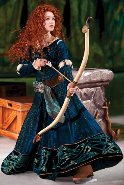 Merida, Disney on Ice
