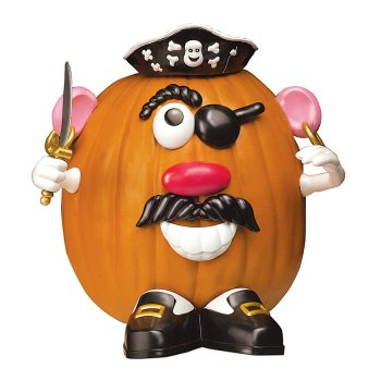 Safe and Fun Pumpkin Decorating with Mr. Potato Head