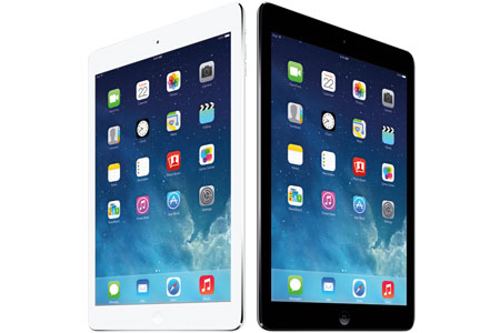 The iPad air, available at DataVision in NYC