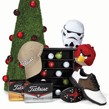 Holiday gifts from Golfsmith NYC