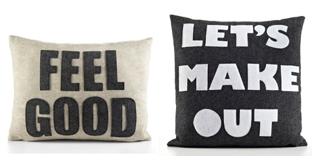 Museum of Sex NYC pillows