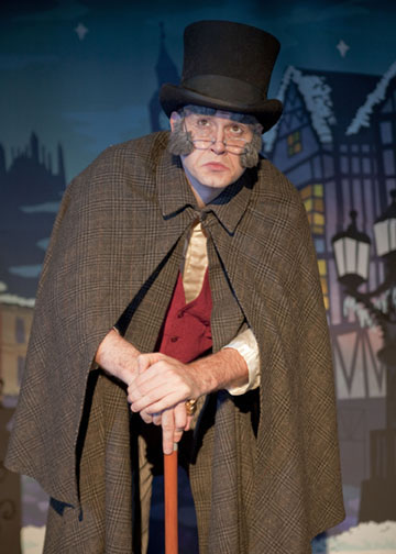 Scrooge in A Christmas Carol