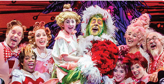 how the grinch stole christmas musical nyc