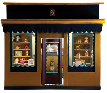 dollhouse exhibit in rockland