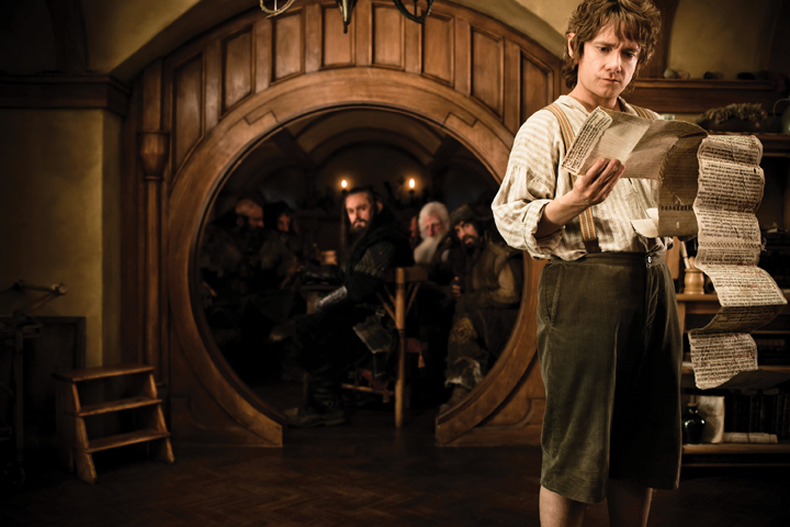 The Hobbit movie, an unexpected journey
