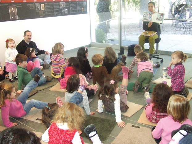 story time at katonah museum