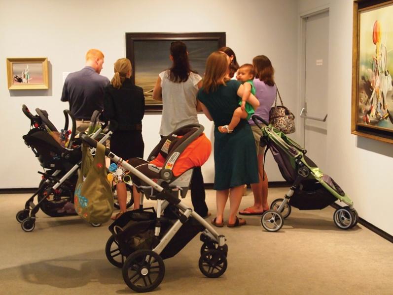 stroller tours katonah museum